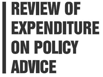 Review of Policy Expenditure and Advice