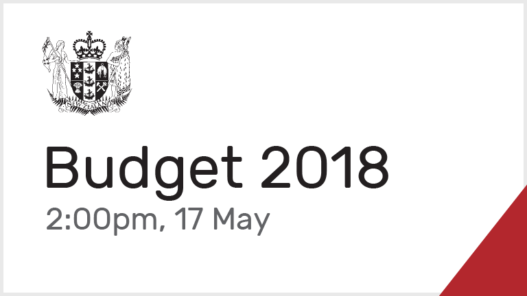 Budget 2018 - 17th May at 2pm